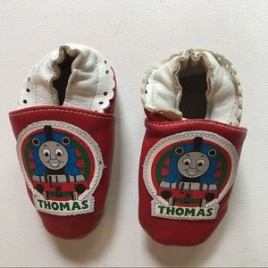 💥3 for $25 Thomas & Friends Red Leather Footies